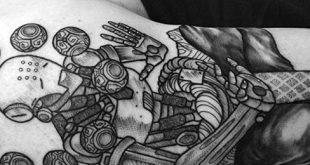 40 Overwatch Tattoo Designs für Männer - Videospiel-Tinten-Ideen