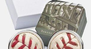 Tokens & Icons MLB Spiel spielte Manschettenknöpfe