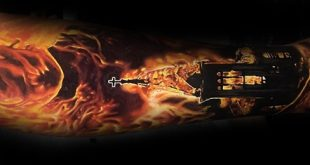 60 brennende Kirche Tattoo Designs für Männer - flammende Tinte Ideen