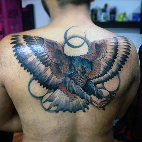 100 Hawk Tattoo Designs für Männer - Maskuline Vogel Tinte Ideen