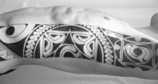 Top 40 besten Tribal Rib Tattoos für Männer - Manly Ink Design-Ideen