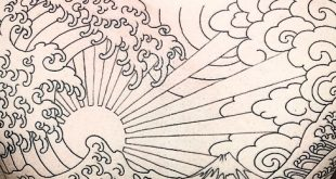 60 Rising Sun Tattoo Designs für Männer - japanische Tinte Ideen