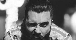 Slicked Back Hair für Männer - 75 klassische Legacy Cuts