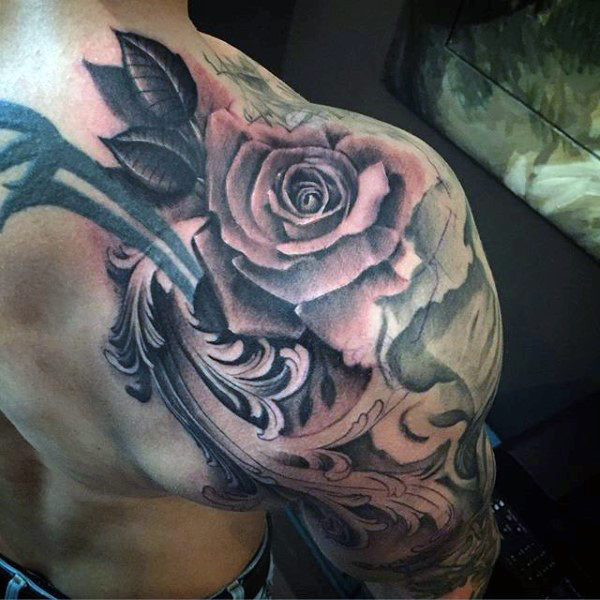 90 Filigran Tattoos für Männer - Ornamental Ink Design-Ideen