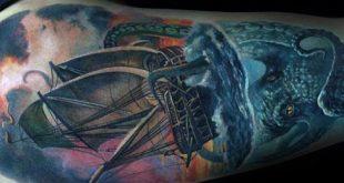 60 Octopus Arm Tattoo Designs für Männer - Cool Ink Ideas