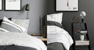 Top 60 besten grauen Schlafzimmer Ideen - Neutral Interior Designs