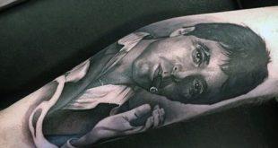 40 Scarface Tattoo-Design-Ideen für Männer - Al Pacino Ink