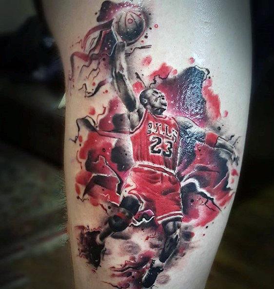 40 Basketball Tattoos für Männer - Maskuline Design-Ideen