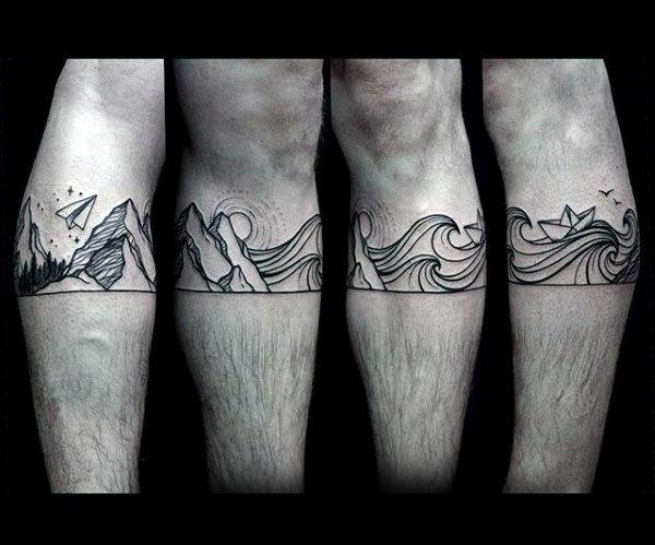 60 Papier Flugzeug Tattoo Designs für Männer - Cool Ink Ideas