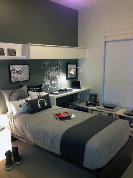Teenage Boy Room Designs: Top 70 Besten Teen Boy Schlafzimmer Ideen