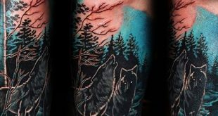 100 Forest Tattoo Designs für Männer - Masculine Tree Ink Ideen