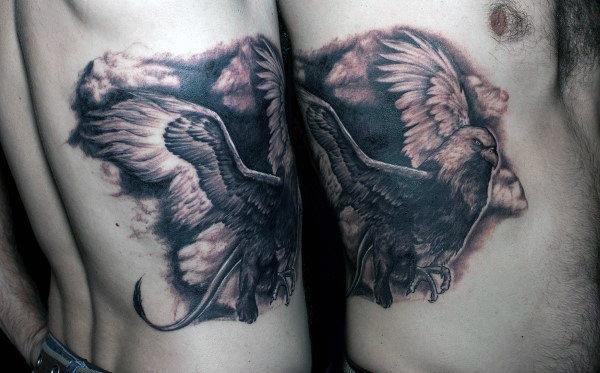 70 Griffin Tattoo Designs für Männer - Mythologische Kreatur Ideen