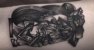 60 Pablo Picasso Tattoos für Männer - künstlerische Design-Ideen