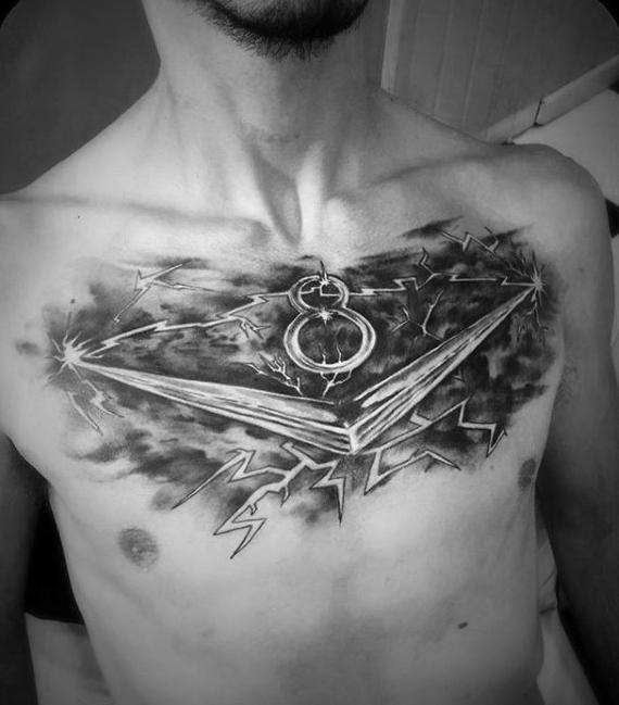 40 V8 Tattoo Designs für Männer - Manly Machinery Ink Ideen
