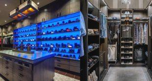 Top 100 besten Kleiderschrank Designs für Männer - Maskulin Walk-In Kleiderschrank Ideen