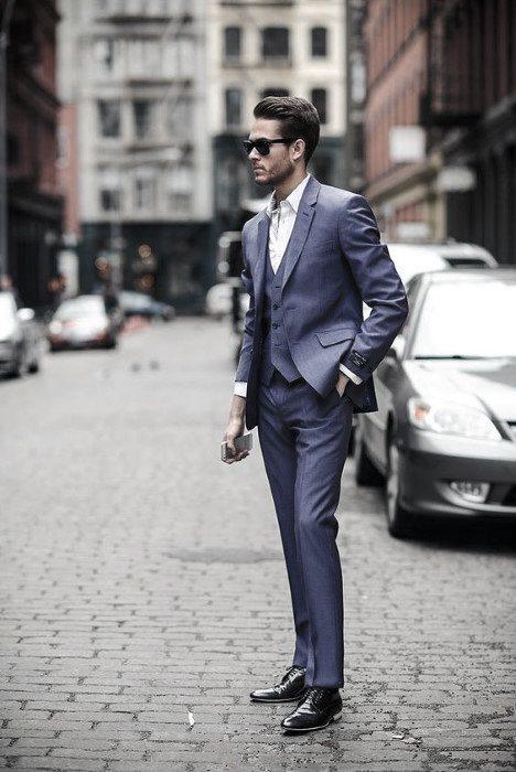 Wie man einen Anzug ohne Krawatte trägt - 50 Mode-Stile für Männer