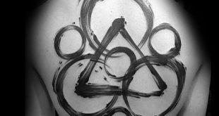 40 Keywork Tattoo Designs für Männer - Coheed und Cambria Ideen