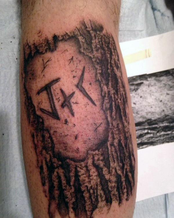50 Holzschnitzerei Tattoo Designs für Männer - Maskulin Ink Ideas