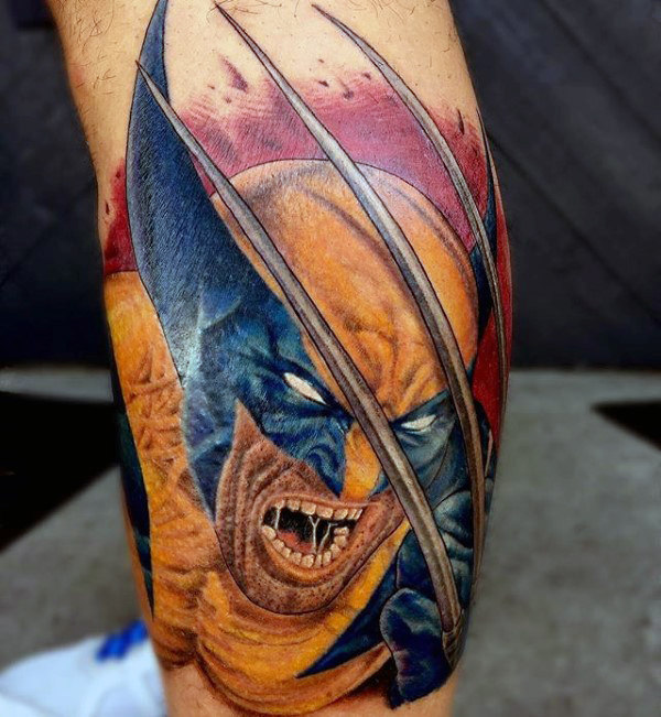 90 Wolverine Tattoo Designs für Männer - X-Men Ink Ideen