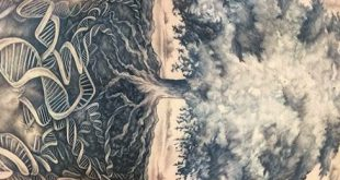 40 Baum zurück Tattoo Designs für Männer - Holz Tinte Ideen
