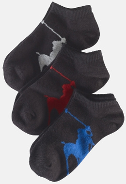 Ralph Lauren große Polo-Spieler-Show-Socken