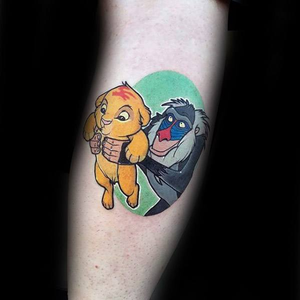 70 Cartoon Tattoos für Männer - Animation Ink Design-Ideen