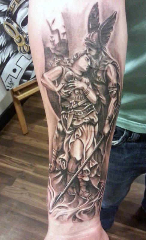 Top 75 besten Unterarm Tattoos für Männer - innere und äußere Designs