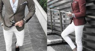Was zu weiße Jeans für Männer - 40 Mode-Stile zu tragen