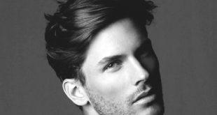 75 Männer mittleren Frisuren für dickes Haar - Manly Cut Ideen