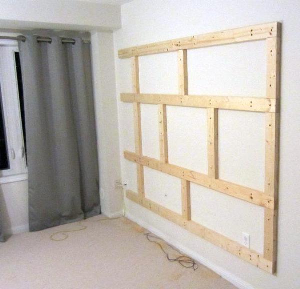 DIY Floating Wall Project - Bauen Sie Ihre eigenen Bachelor Pad TV-Stand