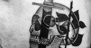 50 kleine männliche Tattoos für Männer - Maskulin Design-Ideen