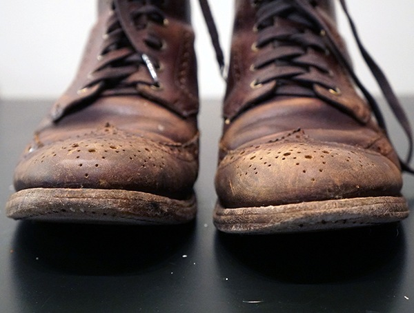 Donnerstag Boot Company Review - Brown Wingtip Stiefel nach 6 Monaten