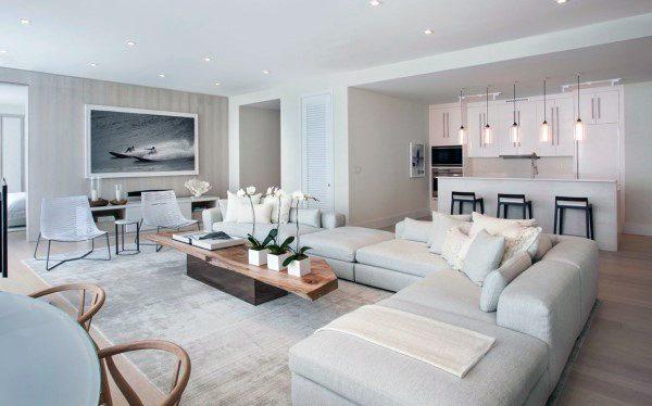 Top 50 besten modernen Wohnzimmer Ideen - zeitgenössische ...
