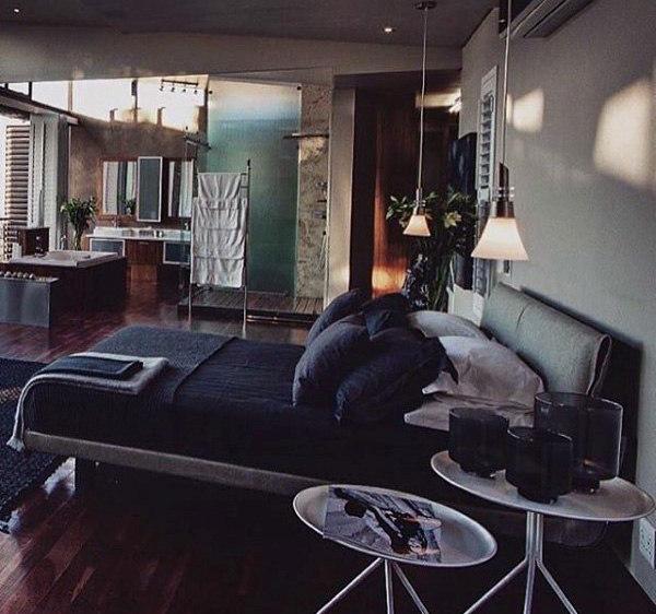 80 Bachelor Pad Männer Schlafzimmer Ideen