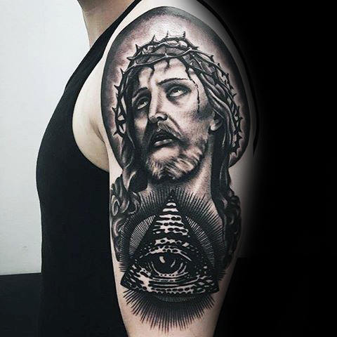 60 Eye Of Providence Tattoo Designs für Männer - Manly Ink Ideen