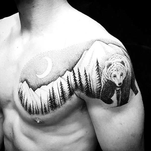 60 große Tattoo-Ideen für Männer - außergewöhnliche maskuline Designs