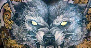60 Wolf Brust Tattoo Designs für Männer - Manly Ink Ideen