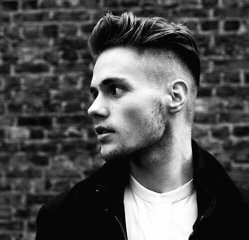 50 rasierte Seiten Frisuren für Männer - ein männlicher Vibrant Throwback