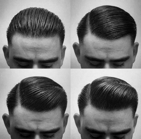 Greaser Hair For Men - 40 rebellische Rockabilly-Frisuren