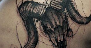 75 Widder Tattoos für Männer - Zodiac Ink Design-Ideen