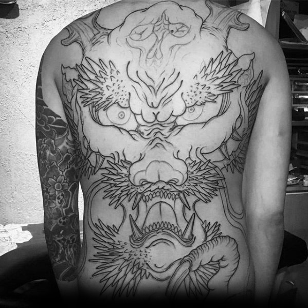 60 Dragon Skull Tattoo Designs für Männer - Manly Ink Ideen