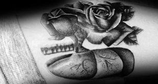 40 Lung Tattoo Designs für Männer - Organ Ink Ideas