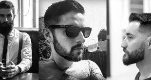 50 kurze Haare mit Bart Stile für Männer - Sharp Grooming Ideen