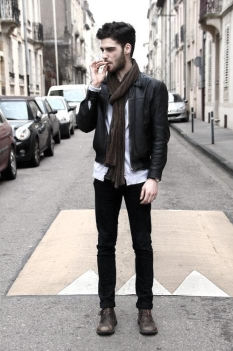 Was trägt man zu schwarzen Jeans für Männer - 50 Fashion Style Ideas