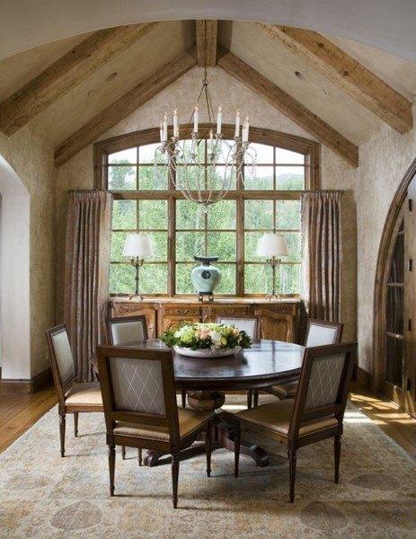 Top 40 besten rustikalen Esszimmer Ideen - Vintage Home Interior Designs
