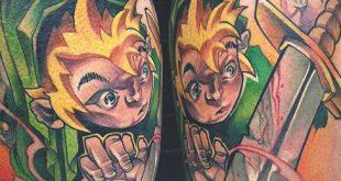 90 Zelda Tattoos für Männer - Cool Gamer Ink Design-Ideen