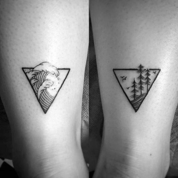 50 einfache Welle Tattoo Designs für Männer - Wasser Tinte Ideen
