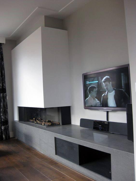 Top 70 besten modernen Kamin Design-Ideen - Luxus-Interieur ...
