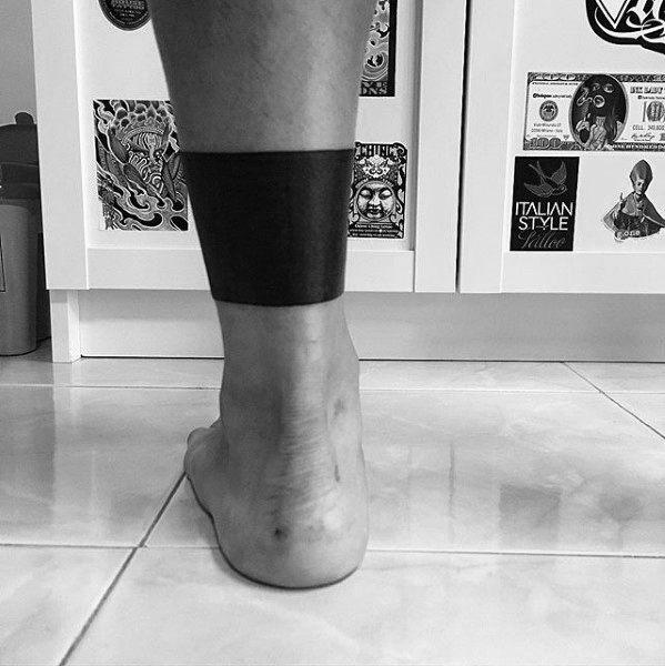 40 Leg Band Tattoo Designs für Männer - Maskulin Tinte Ideen