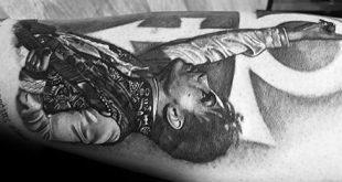50 Prince Tattoo Designs für Männer - Musiker Tinte Ideen